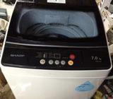 Sharp (7.0kg) washer / washing machine ($170 + Free Delivery and 2mths warranty)