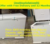 (Brand New) Bizzz Extra Large Chest Freezer ($850 + Free Delivery and 1year warranty)