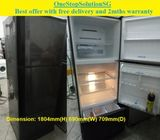 Mitsubishi (418L) 3doors Big refrigerator  / fridge ($350 + Free Delivery & 2mths warranty)