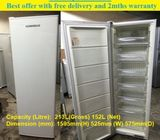 Fisher and Paykel (210L) 1 door Upright freezer ($280 + Free Delivery & 2mths warranty)