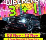 Weekend 3+1 extended Promo - Due Overwhelming Response