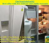 Samsung (540L),Side by side doors fridge / refrigerator ($450 + Free Delivery & 2mths warranty)