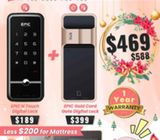 Christmas Promotion for Digital Lock for HDB Door and Gate from $469. Call today: 96177025