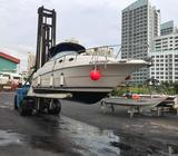 Used boat Monterey 262 CR with cabin sell $58000 NETT, call 97535908