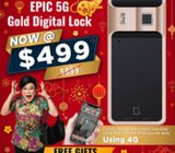 CHINESE NEW YEAR OFFERS FROM LEADING DIGITAL LOCK SELLER IN SINGAPORE, GET EPIC 5G GOLD DIGITAL LOCK