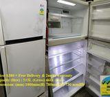 LG 460L, 2doors Huge refrigerator / fridge ($380 + Free Delivery & 2mths warranty)