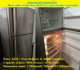 Hitachi 475L)2 doors Huge Fridge / Refrigerator ($350 + Free Delivery and 2mths warranty)