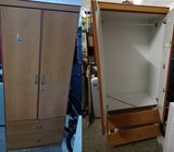 2 Doors wardrobe ($30 Self Collect 11 Woodlands Close)