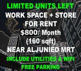 Work Space+Store FOR RENT (3min) Aljunied MRT