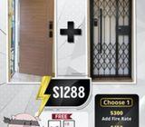 Main Door & Metal Gate Promotion!