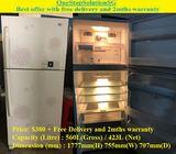 LG (423L), 2doors Huge Refrigerator / Fridge ($380 + Free Delivery and 2mths warranty)