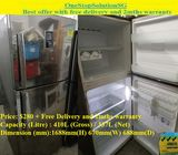 Samsung (335L), 2doors Refrigerator / Fridge ($280 + Free Delivery and 2mths warranty)