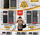 Epic 24K Gold Plated 6G Gate + Door Digital Lock Bundle $1299 HP 88886664