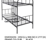 Budgetary Dorm Bunk Bed for Sale, Double Decker & Single Deck Bed