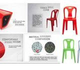 Good Quality Plastic Chair that UV & Humidity Resistance, Asiaone Office Furniture