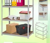 Heavy Duty Boltless rack with 4 fibreboard shelves for Storage purpose