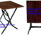 Square Folding Table, 2 sizes available. Staff Pantry Table