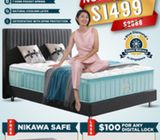 My President Latest Icy Cool Mattress From $1499. Call 85957577 Andy