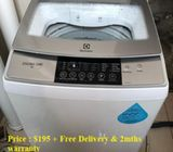 Electrolux (8.0kg), washer / washing machine ($195 + Free Delivery & 2mths warranty)
