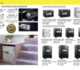 NIKA fire resistance safe box from $388 with free delivery. HP: 85957577