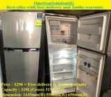 Electrolux 319L, 2 doors fridge  / refrigerator ($290 + Free delivery & 2mths warranty)