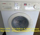 Bosch (7.0kg), washing machine / washer ($270 + Free Delivery & 2mths warranty)