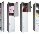 4 Compartments Metal Lockers for Dormitory Worker / 97305289