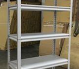 HDB storeroom rack / Boom shelter rack / Heavy duty boltless rack with metal shelves