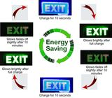 Energy Saving Glow in the Dark Lighted Signage