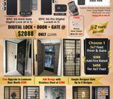 Whatspp 87499168 5G Gold Digital Lock, Door, Gate For HDB Singapore