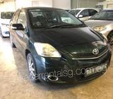 Weekly Rental Toyota Vios packages