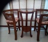 Lounge Table & Chairs