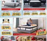My Dream series mattress from $170 with free delivery. HP: 85957577