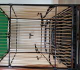 Jambul Square Cage