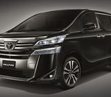 Toyota Vellfire for Rent (with Corp Jobs Option avail) Hurry!