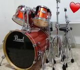 Pearl Vision Birch Drum Kit for Sale! Pristine Awesome Condition
