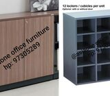 BRAND New Office Furniture Lockers or Office Furniture Cubicle / with Door & Key Lock / Hp: 97305289