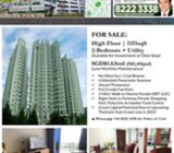 For Sale: COTE Z'AZUR   2-Bedroom + HS   Unblocked Seaview