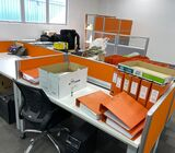 12 x 150cm office desks with Privacy Screen divider