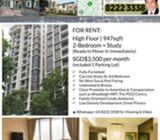 For Rent: 8@Woodleigh. 2br+Study. Fully-furnished. Immediate.