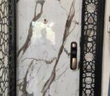 Latest Design HDB Main Door factory sale from $599 onwards HP: 92220659 Paul