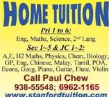 DYSLEXIA TUITION AT YOUR HOME