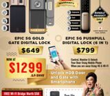 Epic Gate digital lock and Push pull door lock at $1299 only !