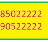 GOLDEN NUMBER 90522222 & 85022222
