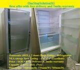 Panasonic (602L), 2 doors Huge Fridge / Refrigerator ($430 + Free Delivery & 2mths warranty)