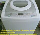 Toshiba (9.0kg) Inverter DD motor  washer /washing machine ($220 + Free Delivery amd 2mths warranty)