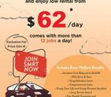 SMRT Taxis - Toyota Prius Gen4 (Hot Leasing Promo)