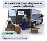 Van with driver + 1 helper $80 (Call +65 8141 0059)