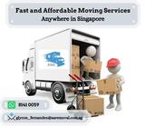 Lorry with driver + 1 helper $120 Call Us (+65 8141 0059)