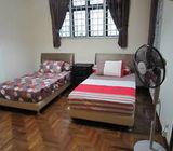 AIRCON BEDROOM + HOUSEKEEPING + UTILITY + INTERNET AT BENCOOLEN